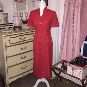 Dresses & Skirts - Plaza South Petite | Vintage Red Dress